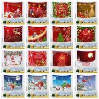 Navidad de Europa y América navidad impresión de poliéster tapiz 100 * 70cm de Navidad tapiz hogar decoración interior T3I51414