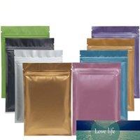 Çok Renkli Açılabilir Zip Mylar Çanta Gıda Depolama Alüminyum Folyo Çanta Plastik Ambalaj Çanta Koku Geçirmez Torbalar