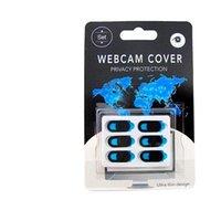 Fabrika Çıkışı 3-6 Adet WebCam Kapak Manyetik Shutter Plastik kaymak telefon Web Dizüstü PC Tablet Pad Kamera Cep Telefonu Gizlilik için