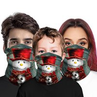 Christmas Face Bandana Neck Gaiter for Adult Kids Face Mask ...