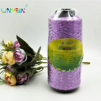 Novo 1 peça * 250g Paillette Fio Espumante Natural Colorido Lantejoulas Exclusivas De Tricô Flicker Glistening Yarn para Mão Tricô T49 C1030