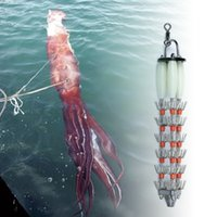 Bimoo Gigante Squid Jig Sea Deep Pulpo Pesca Pesca Jig Lure Commercial Boat Squid Pesca Pesca Cebo Fast Hunding 201104
