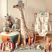 67см милых гигантского размера жираф плюшевых игрушек милые мягкие жирафы чучел животных кукла игрушки для малыша ребенок подарка на день рождения