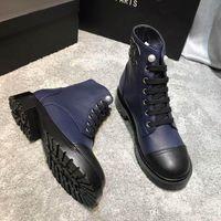 2020 السيدات الموضة الجديدة أحذية قصيرة أنيقة من الجلد النساء مريحة قصيرة الأحذية اللون دراجة نارية مارتن الأحذية حجم 35-41 CH