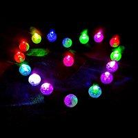 Mini balle ronde LED Ballon RVB Lampes de la Saint-Valentin Lampes de la Saint-Valentin pour la décoration de fête de mariage de Noël Lantern