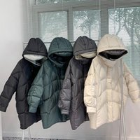 Fitaylor New Winter Mulheres 90% White Duck Down Casaco Lote Médio Médio Parka Oversize Snow Outwear