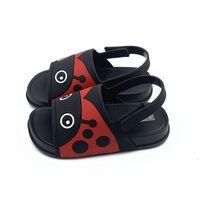 2021 الصنادل الأطفال جودة عالية أطفال جيلي الأحذية الكرتون الخنفساء طفل رضيع فتاة الصيف الشاطئ لينة pvc الصنادل أحذية النعال W0108