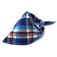 Chiens triangle bandanas réglable chien chien chat col de chat écharpe cravate nœud cravate bandana collier collier foulard accessoires de chien cicatrice à carreaux 29 J2