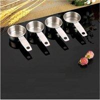 Tatlı Ölçüm Kaşık Paslanmaz Çelik Ölçüm Kaşık Mutfak Pişirme Araçları Kahve Çekirdekleri Ölçüm Kupası Baharat Miktarı Kaşık 158 N2