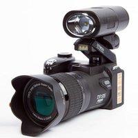 Dijital Kameralar Protax D7200 Video Kamera 1080 P DV Profesyonel 24x Optik Yakınlaştırma Artı LED Farlar Max 333MP1