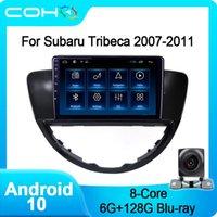 Coho per Tribeca 2007-2011 Auto Auto Navigation Video Multimedia GPS Player Video Android 10 Octa Core Car DVD