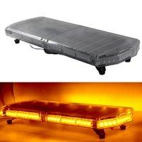72W 자동차 LED 가벼운 스트로브 경고 빛 12V 24V 자동차 캐러밴 방수 자동차 지붕 플래시 램프 72 LED