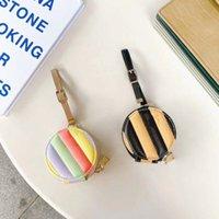Mektupları Uygun 02/01 / Pro ile Airpods Siyah Pembe renkli Airpods Koruyucu Kılıf için Tasarımcı Kulaklık Paketi