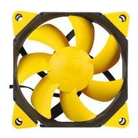 Cool Giallo F123 Caso Computer Caso da 12 V Ventilatore di alimentazione Ultra-Tranquillo 12 cm Caso Ventilatori di raffreddamento Ventilatori idraulici Velocità cuscinetto idraulico 1200 Super Mute1