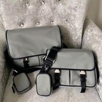 Canvas Cross Body Bag Men Fashion Bag Bag Messenger Сумка для Человек Классический Крест Тело Сочетание Водонепроницаемый Холст Парашюта Ткань Мужской кошелек