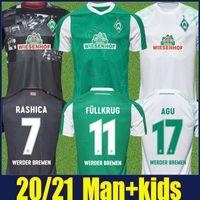 2020 2021 SV Werder Bremen 3rd City Jersey Men Kit Kit Kit Bittencourt Klaassen M.Eggestein Jersey Soccer Jersey Osako Selke Rashica Jersey Football