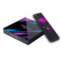 H96 Max RK3318 Android 10.0 Caja de TV inteligente 2G 16G Quad Core 4K HD 2.4G / 5G WiFi Google Play EE. UU.