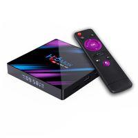 H96 Max RK3318 Android 10.0 Akıllı TV Kutusu 2G 16G Quad Core 4 K HD 2.4 g / 5g WiFi Google Play Bize Plug USA Stock