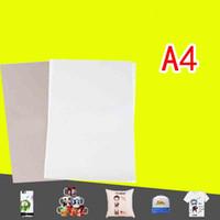 Thermotransferpapiere rosa Sublimationswärmeübertragung Papier A4 Größe Verwendung in Kleidung T-Shirt Tasse Maus-Pad Kissen usw. freie Luft Versand