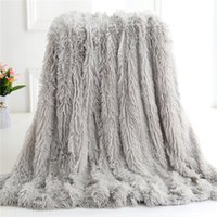 Autumn Winter Warm Plush And Super Soft Crystal Plush Double...
