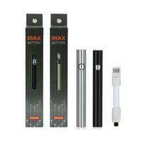 Original Amigo Max Préchauffez la batterie 380MAH Tension variable VT VV Charge inférieure 510 Batterie pour la liberté V9 Épais Cartouche de cartouche d'huile