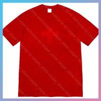 EU 사이즈 탑 맨스와 동일한 맨스 맨스 럭스 디자이너 티셔츠 2021 캐주얼 셔츠 뜨개질 망 의류 패턴 인쇄 티즈 탑