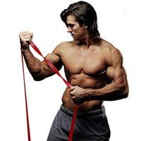 Устойчивые полосы сопротивления Фитнес помогают латекс Crossfit Heavy Duty Workout Упруговая ленточная петля Push Up Упражнение Устойчив