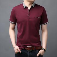 2021 Новая мода бренд летние рубашки поло