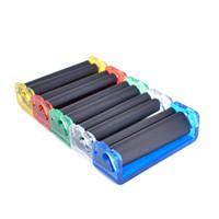 수동 담배 롤링 머신 휴대용 미니 70 78mm 담배 인젝터 흡연 액세서리 흡연 롤러 담배 롤링 도구 104 P2