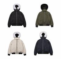 Moda uomini e donne paio alce inverno giù giacca casual edizione caldo contenimento invernali paio di parka di inverno piumino outwear canada
