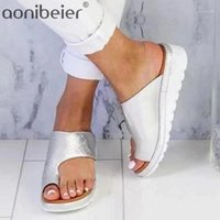 Aonibier Wedges Shoes para mujer Flip Flops Beach Summer Slippers Sandalias de cuña antideslizante Mules Classic Comfort Casual Shoes1