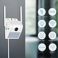 SD Fotocamera corpo macchina della lampada da parete di WiFi IR di visione notturna 1080P Nuvola HD all'aperto Smart IP induzione Giardino Wireless