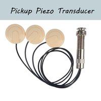 Pastilla de guitarra universal piezoeléctrica del transductor de la guitarra acústica Ukulele del banjo mandolina