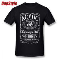 Banda de Música Acdc camiseta para los hombres de encargo del equipo Dropshipping de verano de manga corta de algodón más el tamaño de 4xl Tee 5XL 6XL Y200930