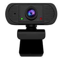 Webcams HD 1080P Webcam USB PC Caméra avec micphone intégré pour ordinateur portable vidéo en direct Windows Mac Linux Android OS