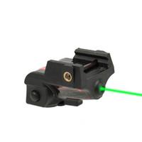 Wiederaufladbare Unterkompakt Kompakte Pistole grüner Laser-Anblick-taktischer Laser für Picatinny Rail