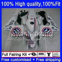 Injection für HONDA CBR 600F5 600 CC CBR600 RR 2003 2004 Repsol blau 49HM.67 CBR600F5 CBR600RR 03 04 CBR 600RR 600 RR F5 03 04 OEM Verkleidungs