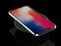 10W Schnelles kabelloses Ladegerät für iPhone 11 pro xs max xr x 8 plus USB Qi-Ladekissen für Samsung S10 S9 S8 Edge Note 10 mit Kleinkasten 2021