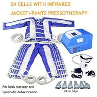 Прессотерапии Прессотерапия для давления на воздухе Detox Тонкий станок Дальнее инфракрасная лимфатическая детокс профессиональный лимфатический дренажный массаж