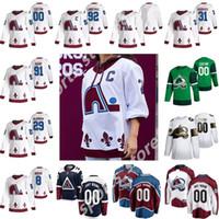 Colorado Avalanche 2021 Reverse Retro Hockey-Trikots 29 Nathan Mackinnon 8 Cale Makar 96 Mikko Rantanen 92 Gabriel Landeskog 19 Joe Sakic