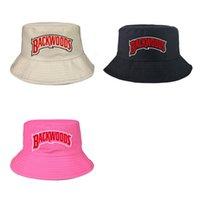 2021 backwoods moda balıkçı kova şapkası eğlence düz renk erkekler spor düz üst şapka yaz kadın açık seyahat güneş şapka