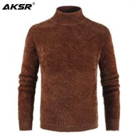 Pulls pour hommes Aksr Turtleneck Pull tricoté Cachemire Winter Hommes 2021 Pullover Homme Swetry Pull Col Roul Homme1