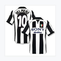 Top 97 98 99 00 Davids Retro Futbol Formaları Zidane Futbol Gömlek 1997 1998 1999 2000 Del Piero Jersey Inzaghi Klasik Maillot de Foot