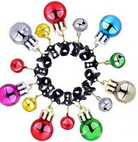 Santa Claus Barba Pendurado Ornamentos Funny Party Bola De Bola De Bolas De Natal Clip Natales Árvore Pingente Multicolor Hot Sale 0 62SC J2