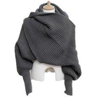 Корейский трикотажные СНД шарф воротник мужской зимой теплый с длинным рукавом Пончо шарфы для женщин вязать шали палантина мужские свитера Шарфы