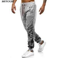 Pantalons pour hommes Muyogrt Skinny SweatPants Pantalons Pantalons Noir Gyms Track Fitness Hip Hop Men Streetwear Jogging