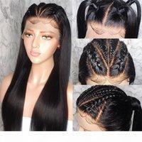 Shuowen полные кружева синтетические ременные волосы парики прямые кудрявые симуляторы человеческие волосы парик Perruques de Chevaux Hugnaines Fysk-Fl-02