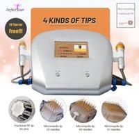 Professionnel MicroneDle RF Système de thérapie MicroneDle MicroSededle Rouleau de Derma Micro Aiguilles Utiliser Manuel approuvé Micro Dermal