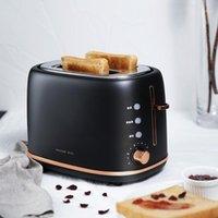 صناع الخبز الفولاذ المقاوم للصدأ محمصة كهربائية المنزلية آلة الخبز المنزلية آلة الإفطار