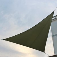 Tentes et refuges étanches triangulaires UV Sun Sun Shade Combinaison Net Triangle Tente